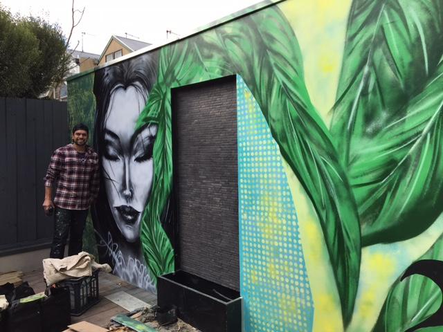 Zen mural