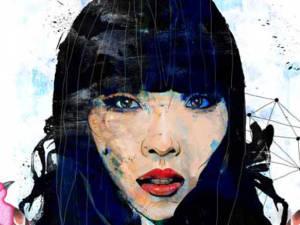 Dami Im portrait illustration