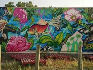 Farmwall mural