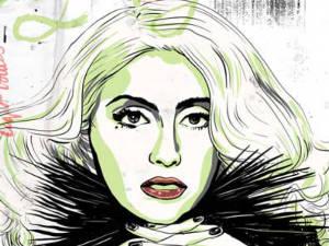 Lady Gaga illustration