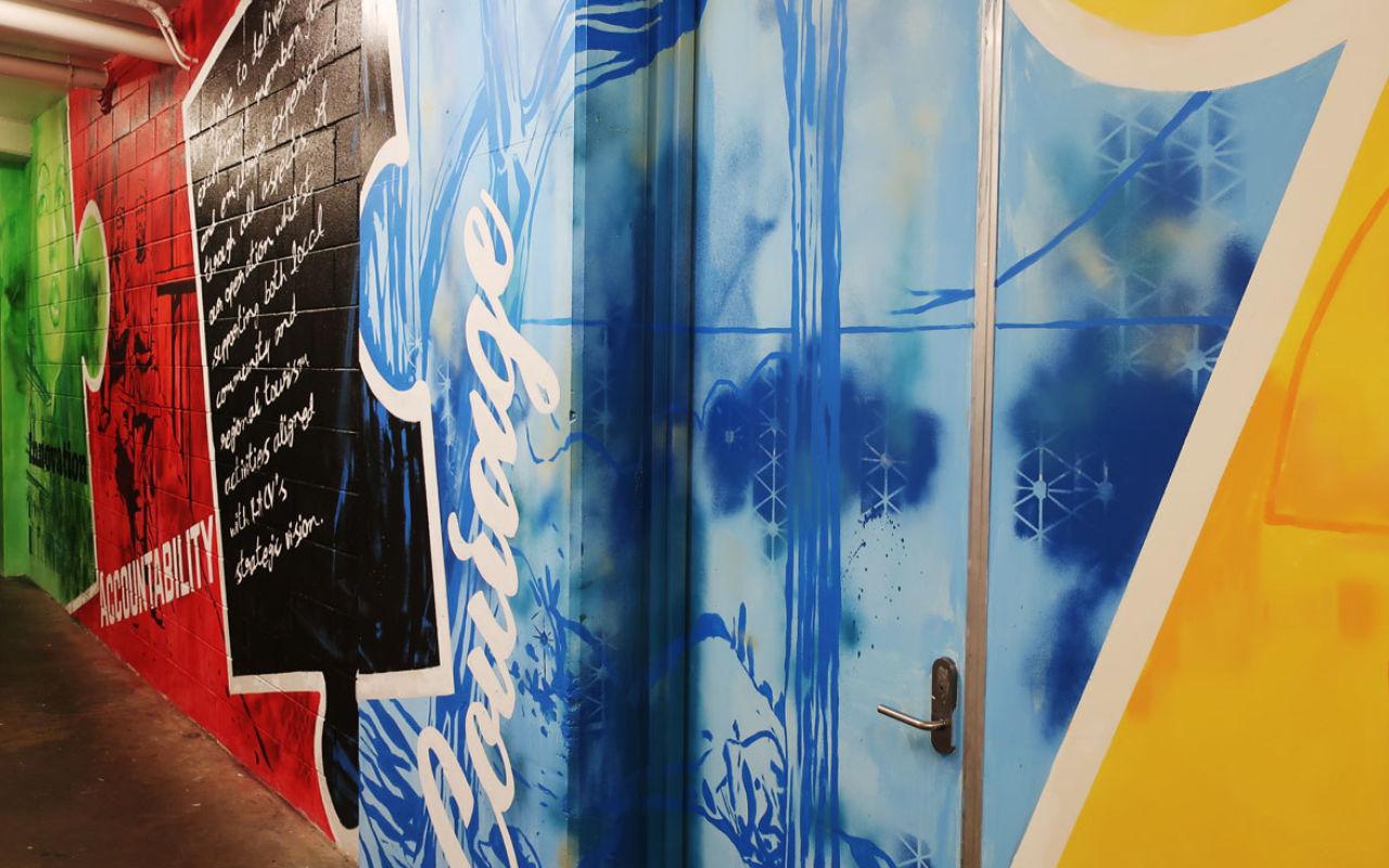 RACV mural